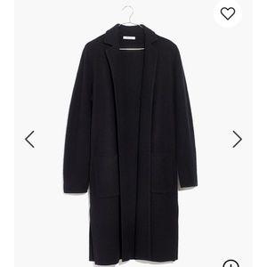 NWT Madewell Camden Sweater Coat